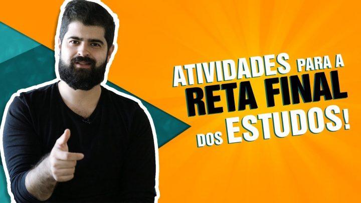 Atividades para a reta final da sua preparação   Fernando Mesquita