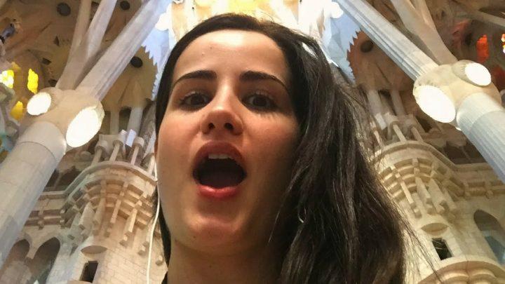 ¡LA SAGRADA FAMILIA ES IMPRESIONANTE! | Vlog en España 🇪🇸